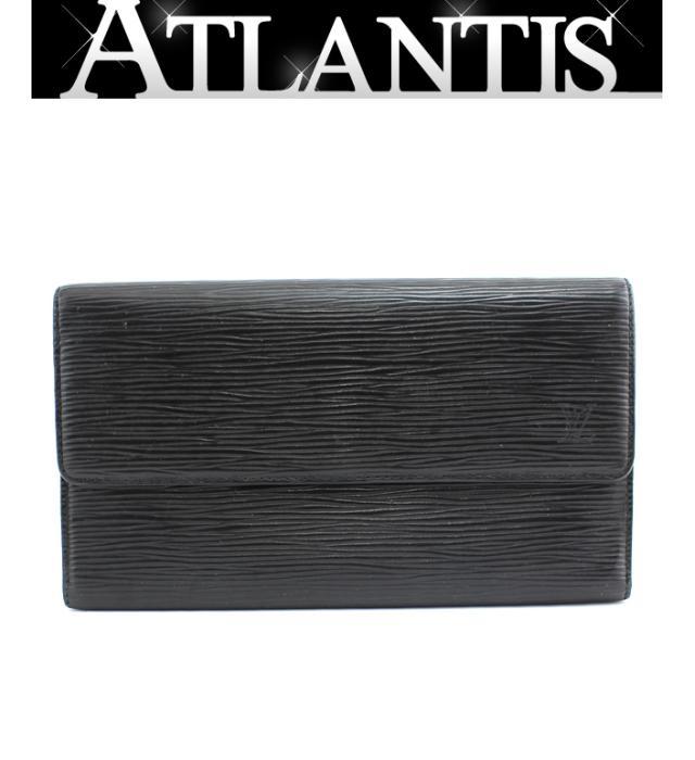 ルイヴィトン LOUIS VUITTON ポルトフォイユ インターナショナル 販売期間 限定のお得なタイムセール エピ 新作からSALEアイテム等お得な商品満載 ノワール M63382 三つ折り長財布