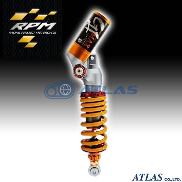 MAJESTY S(マジェスティS)リアサスペンション RPM GII MAX HI/LOW スピード デュアルコンプレッション アジャスタブル 車高調整付き カラーオーダー