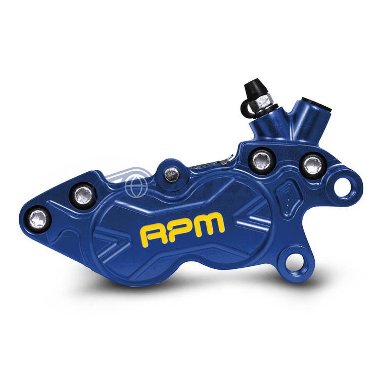 RPM BK-4R-006 CNC Axial P4 40mmピッチキャリパー 右用 ブルー