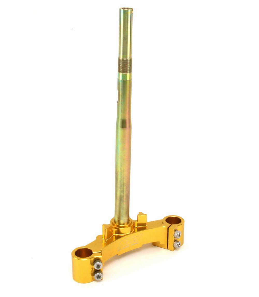 NCY シグナス X(CYGNUS X) CNC 軽量 アルミ ステアリングステム ゴールド