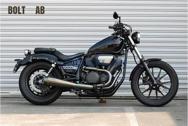 CORES コアーズ Exhaust BOLT ボルト CE01 B-Sho`t All Blacks Ver-A CE01-BO-0001-AB オールブラックス マフラー