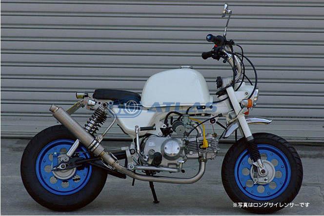 CORES コアーズ Exhaust Monkey モンキー チタン レーシングマフラー ロング