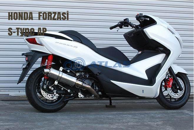 CORES コアーズ Exhaust FORZA フォルツァ si S-Type BM ブラックメタル マフラー