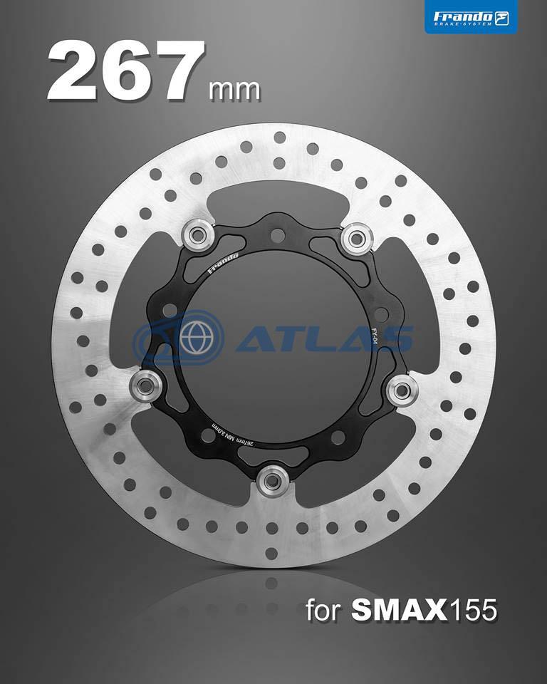 FRANDO 【MAJESTY S】【マジェスティS】【SMAX】【FORCE155】軽量フローティングディスク 267mm