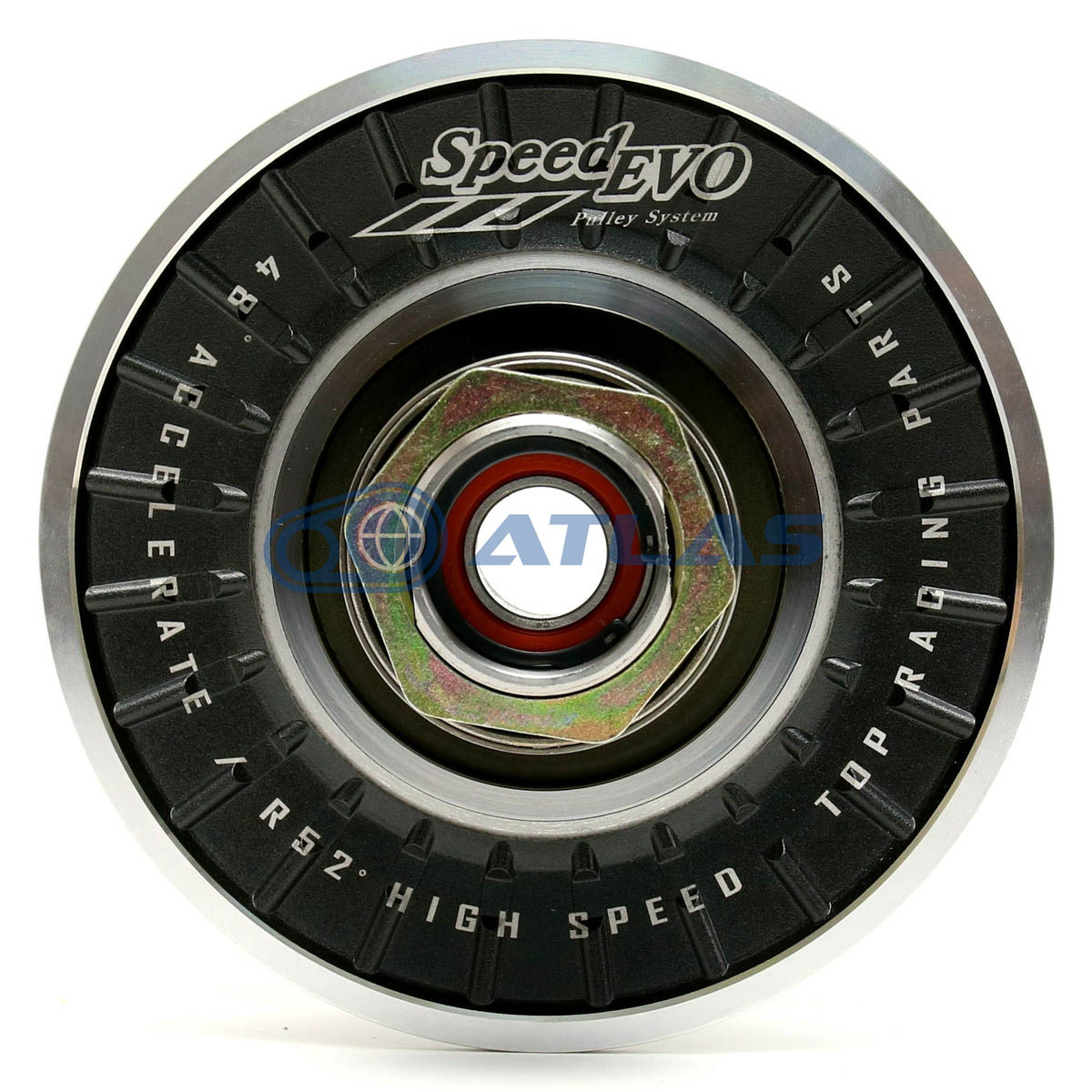 Speed EVO 4型 5型シグナスX(CYGNUS X)アルミドリブンプーリー タイプ 直溝タイプSG