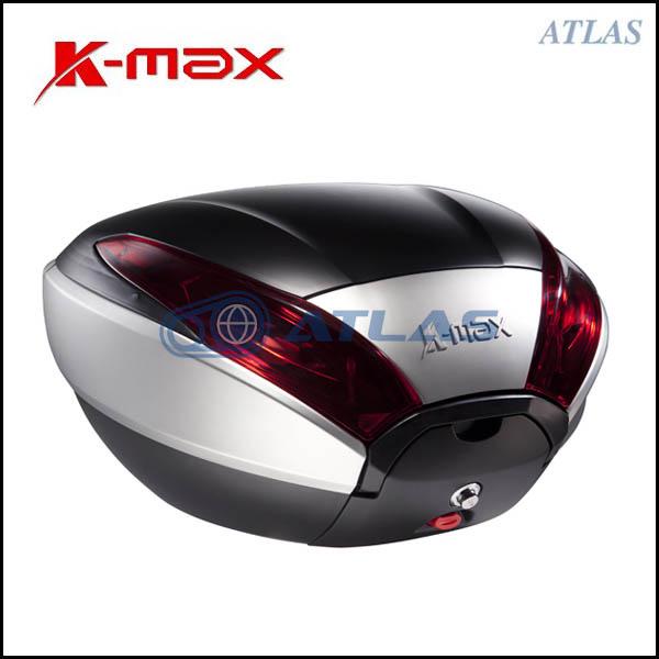 K-MAX K20 汎用リアボックス 40リットル シルバー/ブラック プッシュオープンゲート