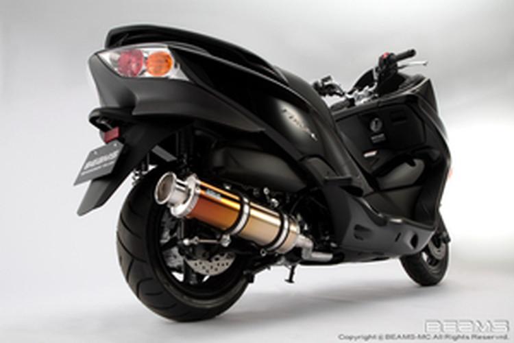 【BEAMS】【マフラー】B127-18-000 FORZA フォルツァ MF10 SS400チタン ビームス