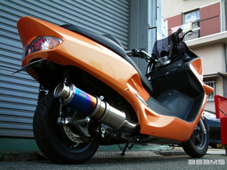 【BEAMS】【マフラー】B102-12-000 FORZA フォルツァ MF06 SS400チタン ビームス