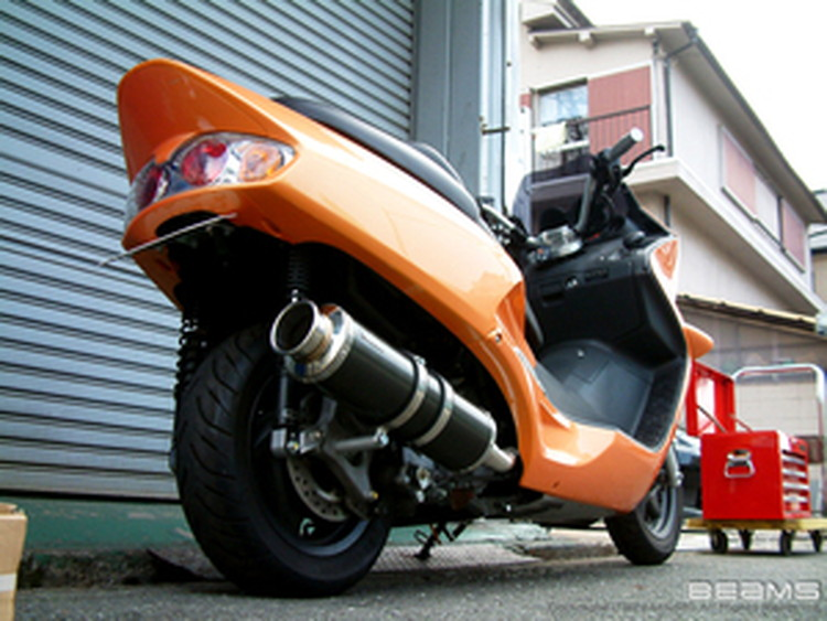 【BEAMS】【マフラー】B102-11-000 FORZA フォルツァ MF06 SS400カーボン ビームス