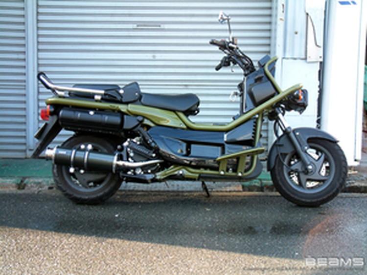 【BEAMS】【マフラー】B111-11-000 PS250 MF09 SS400カーボン ビームス