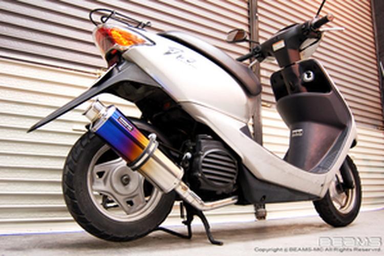 【BEAMS】【マフラー】B120-09-000 Smart - Dio スマートディオ SS300チタン ビームス