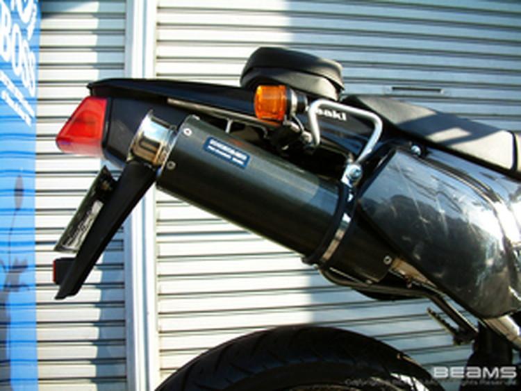【BEAMS】【マフラー】B403-08-004 D-tracker ディートラッカー SS300カーボン アップタイプ S/O ビームス