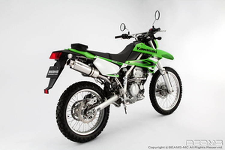 【BEAMS】【マフラー】B408-07-003 KLX250 LX250S SS300ソニック アップタイプ フルエキ ビームス