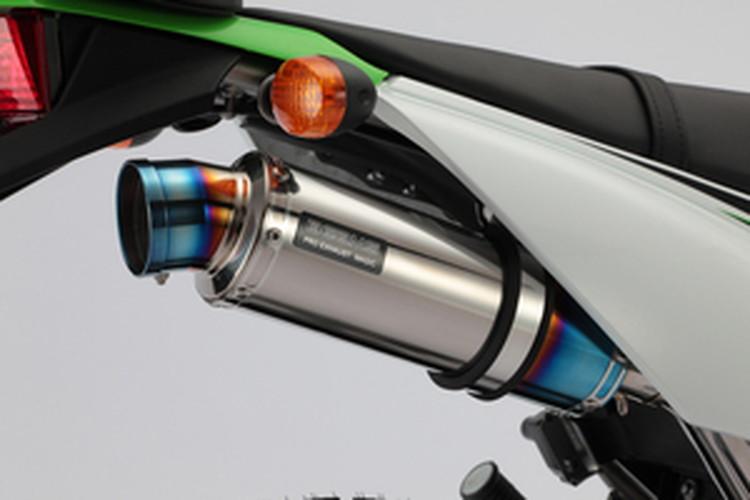【BEAMS】【マフラー】B413-53-007 KLX125 LX125C R-EVO チタンサイレンサー ビームス