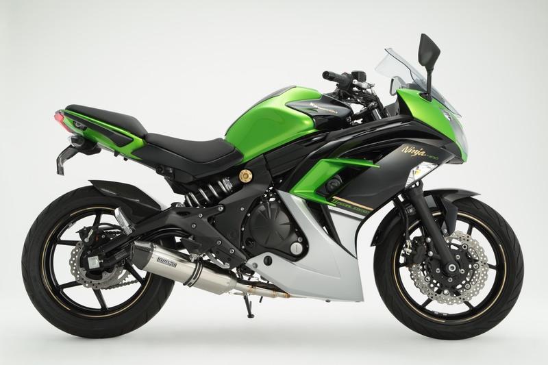 【BEAMS】【マフラー】G421-64-P6J Ninja400/ABS ニンジャ '14~ CORSA-EVO2 フルエキ ステンレス ビームス