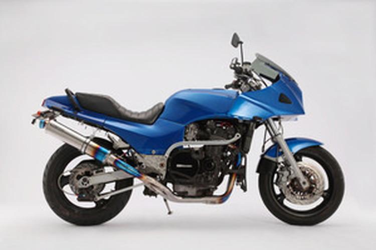 【BEAMS】【マフラー】D402-53-T1S GPZ900R R-EVOフルエキ (φ100ロング・ヒートチタンサイレンサー) ビームス