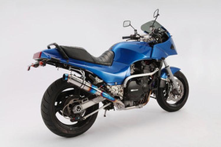 【BEAMS】【マフラー】D402-53-T8S GPZ900R R-EVOフルエキ (φ89ショート・ヒートチタンサイレンサー) ビームス