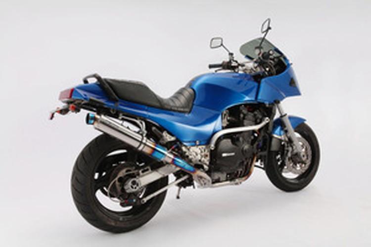 【BEAMS】【マフラー】D402-53-TCS GPZ900R R-EVOフルエキ (φ89ロング・ヒートチタンサイレンサー) ビームス