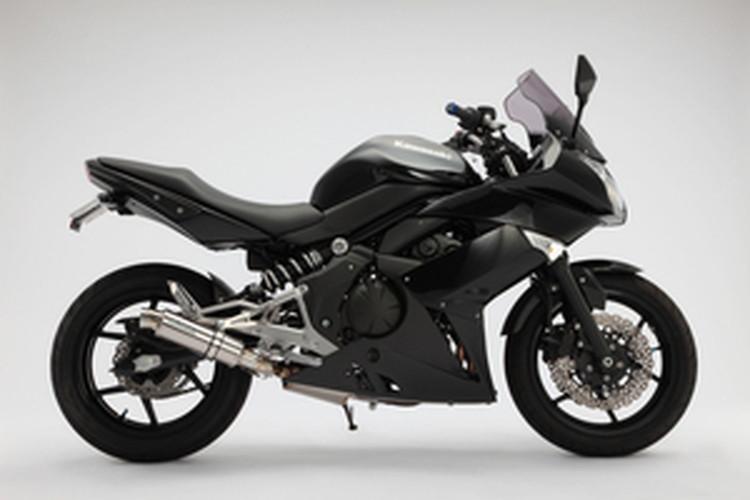 【BEAMS】【マフラー】G414-53-P6S Ninja400R ニンジャ R-EVOスリップオン(ステンレスサイレンサー)JMCA ビームス