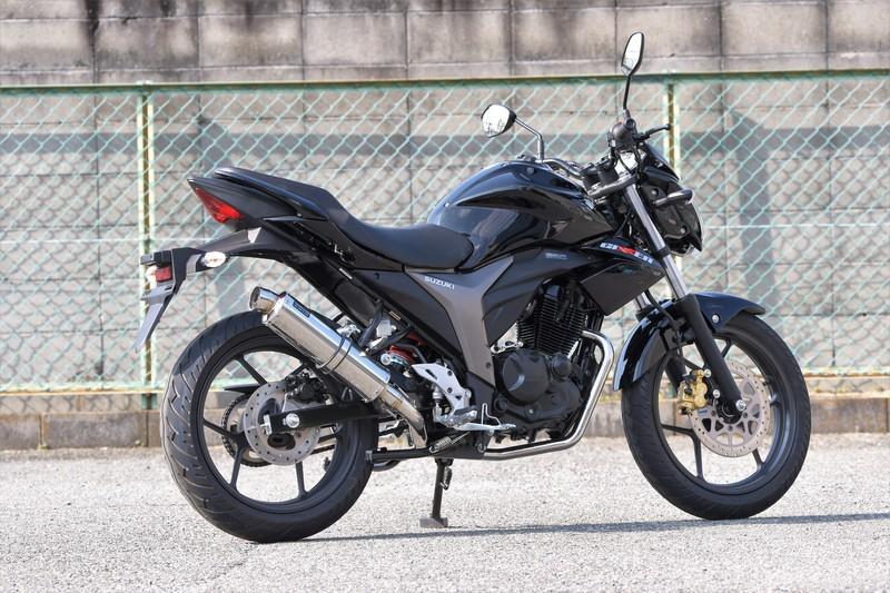 【BEAMS】【GIXXER】【マフラー】G334-53-008 ジクサー R-EVO ステンレス フルエキ ビームス