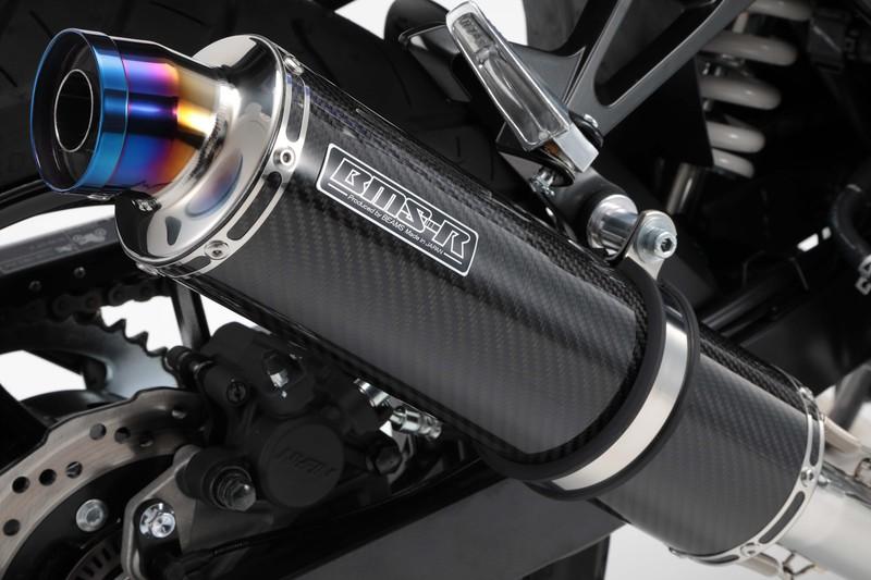 【BEAMS】【GSX250R】【マフラー】 G335-53-P2J 2BK-DN11A R-EVO カーボン スリップオン ビームス