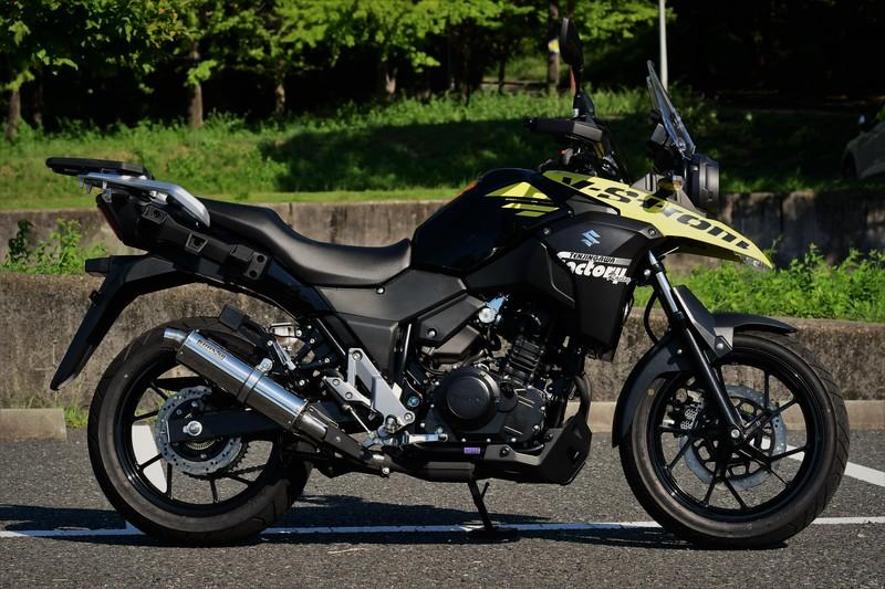 【BEAMS】【V-STROM250】【マフラー】 G337-53-P6J 2BK-DS11A R-EVO ステンレス スリップオン