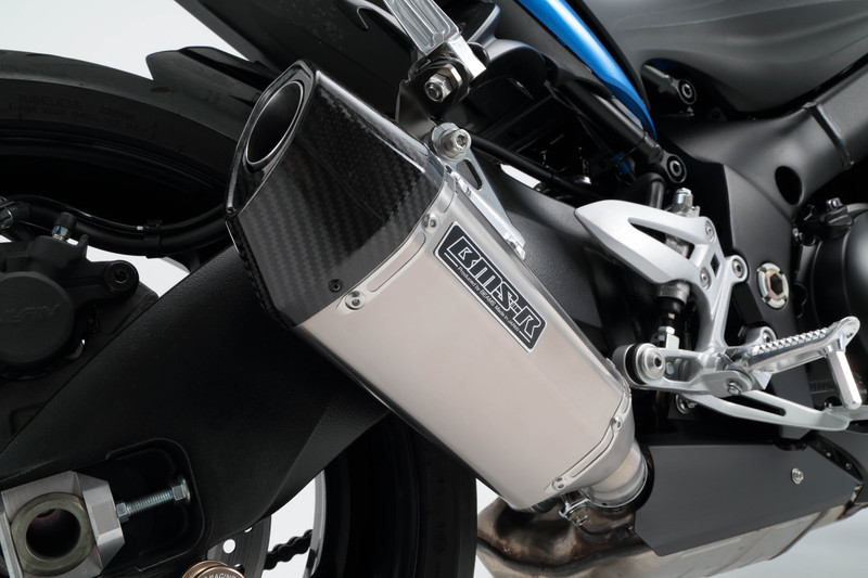 【BEAMS】【GSX-S1000/F】【マフラー】 G334-64-P1J CORSA-EVO2 スリップオン ヒートチタン ビームス