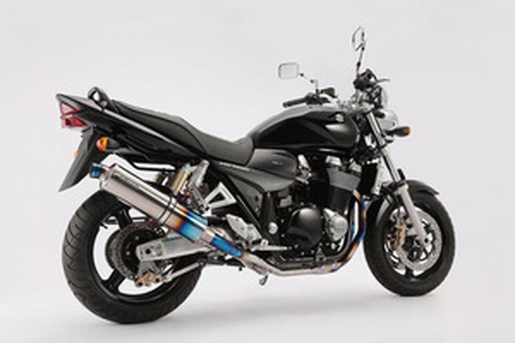 【BEAMS】【マフラー】D303-53-T1S GSX1400 R-EVO フルエキ (ヒートチタンサイレンサー) ビームス