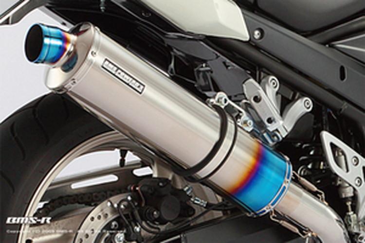 【BEAMS】【マフラー】G305-53-P1S BANDIT1250S/F/ABS バンディット R-EVO スリップオン (ヒートチタン) JMCA ビームス