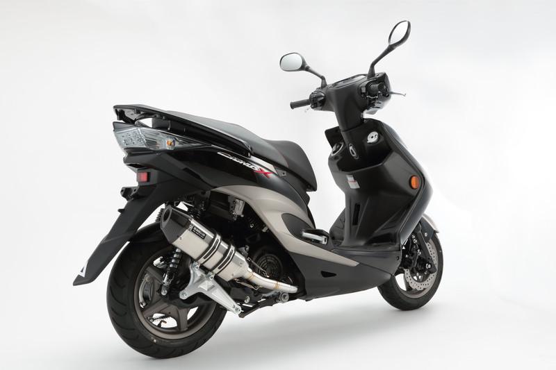 【BEAMS】【シグナス X】【マフラー】G220-64-000 CYGNUS Fi SE44J /国内モデル CORSA-EVO2 ステンレス ビームス