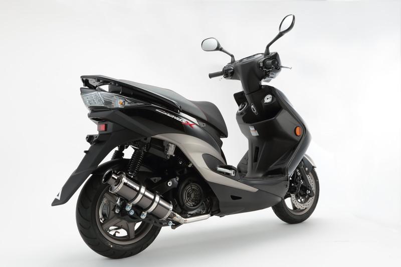 【BEAMS】【シグナス X】【マフラー】G220-05-000 CYGNUS Fi SE44J /国内モデル SS300SMB スーパーメタルブラック SP ビームス