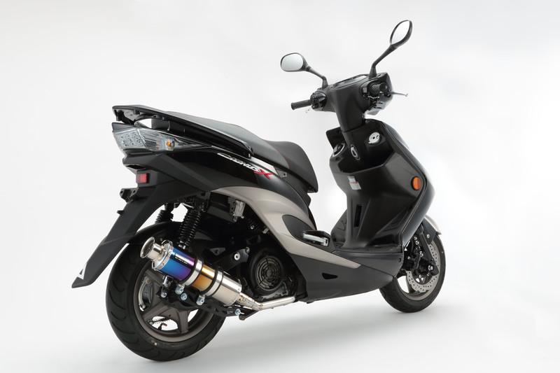 【BEAMS】【シグナス X】【マフラー】G220-09-000 CYGNUS Fi SE44J /国内モデル SS300チタン SP ビームス