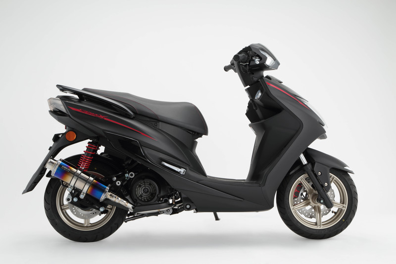 【BEAMS】【シグナス X】【マフラー】G241-06-000 CYGNUS Fi SEA5J /国内モデル SS300ヒートチタンSP ビームス