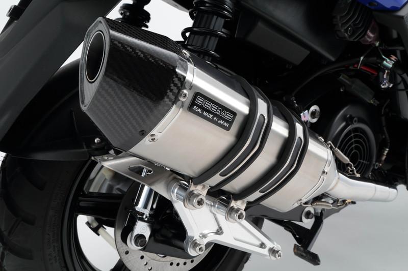【BEAMS】【BW'S125】【マフラー】G243-64-000 2016~/国内モデル ビーウィズ EBJ-SEA6J CORSA-EVO2 ステンレス ビームス