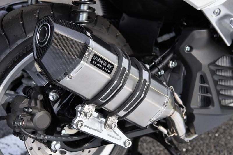 【BEAMS】【N-MAX155】【マフラー】 G252-64-000 エヌマックス 2BK-SG50J CORSA-EVO ステンレスサイレンサー ビームス