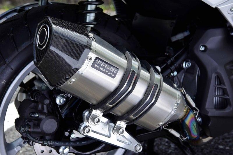 【BEAMS】【N-MAX155】【マフラー】 G252-65-000 エヌマックス 2BK-SG50J CORSA-EVO チタンサイレンサー ビームス