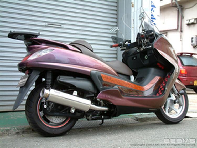 【BEAMS】【マフラー】B212-10-000 GRAND MAJESTY グランドマジェスティ SH04J SS400ソニック ビームス