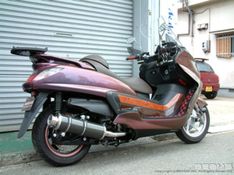 【BEAMS】【マフラー】B212-11-000 GRAND MAJESTY グランドマジェスティ SH04J SS400カーボン2 ビームス