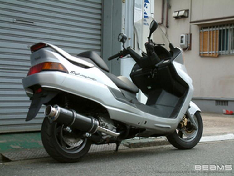 【BEAMS】【マフラー】B206-11-000 MAJESTY マジェスティ SV SG01J SS400カーボン2 ビームス