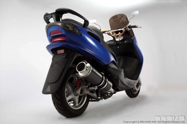 【BEAMS】【マフラー】B207-11-000 MAJESTY マジェスティ 125 SS400カーボン ビームス