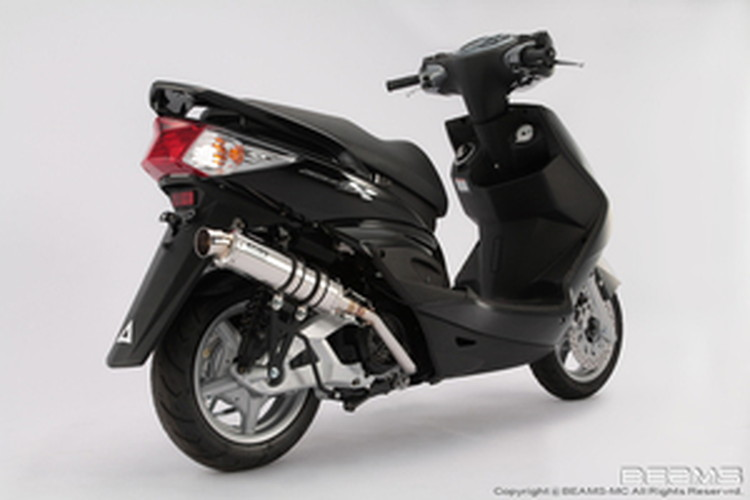 【BEAMS】【シグナス X】【マフラー】G220-53-008 CYGNUS Fi SE44J /国内モデル R-EVO SP ステンレスサイレンサー ビームス