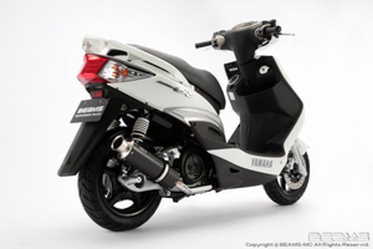 【BEAMS】【シグナス X】【マフラー】B226-08-000 CYGNUS Fi09~/台湾モデル SS300カーボン ビームス