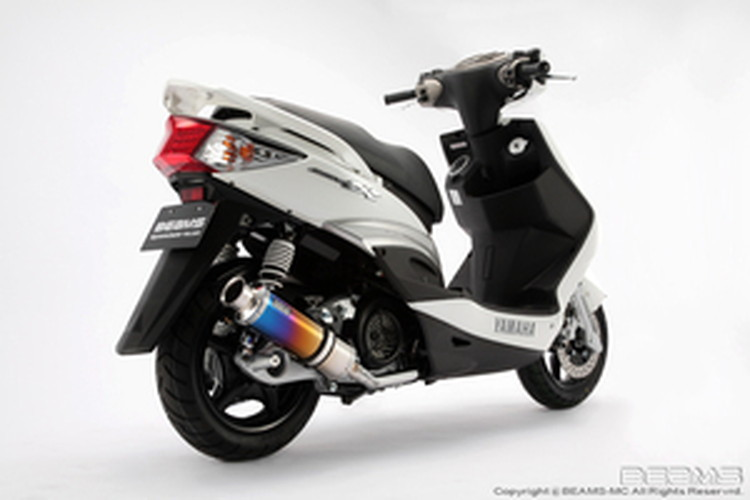 【BEAMS】【シグナス X】【マフラー】B226-09-000 CYGNUS Fi09~/台湾モデル SS300チタン ビームス