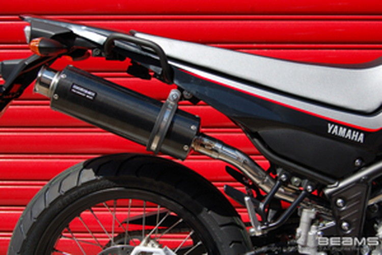 【BEAMS】【マフラー】B215-08-004 XT250X BA-DG11J SS300カーボン アップタイプ S/O ビームス