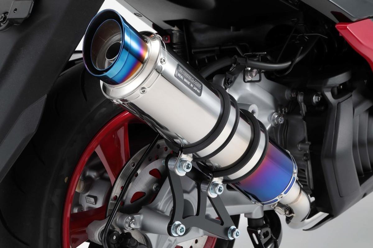 BEAMS G260-54-007 MAJESTY S マジェスティ S 2018~ R-EVO2 ヒートチタンサイレンサー ビームスマフラー
