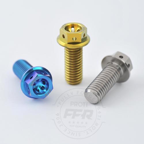 PROTI 64チタンボルト Monster1200_ Front Caliper R/L(4)+Rear Caliper(2)_6pcs/Set,4,2