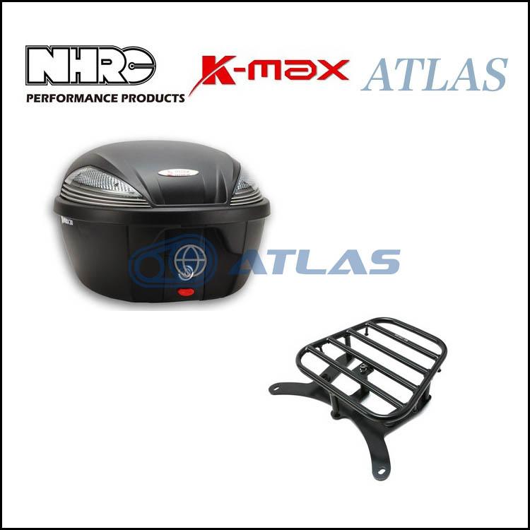 NHRC 4TH CYGNUS X(シグナス X) 用リアキャリア K-MAX ボックスセット