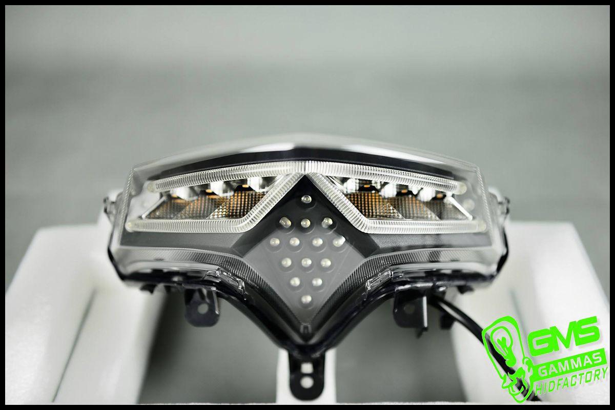 GAMMAS R7 LEDフラッシャー テールランプキット【MAJESTY S】【マジェスティS】【SMAX】