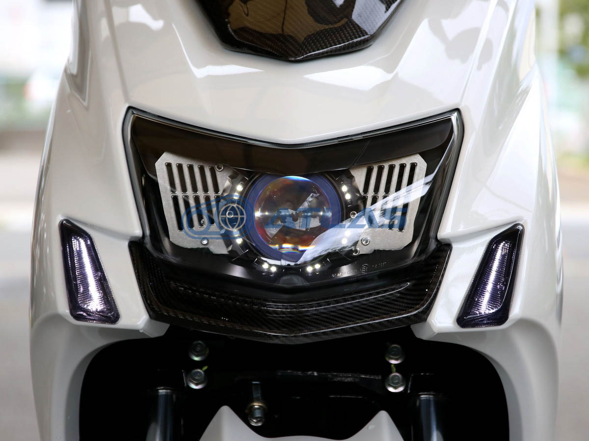 GAMMAS 5型シグナスX(CYGNUS X) 魚眼ヘッドライト LED仕様 35W 5000K 3200lm