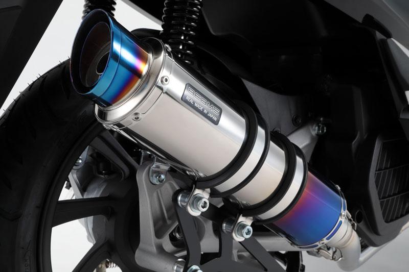 BEAMS マフラー G180-54-007 PCX150 2BK-KF30 R-EVO2 スーパーメタルブラック フルエキ ビームス